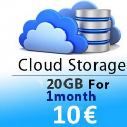 CLOUD STORAGE 1 MONTH