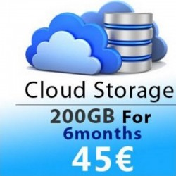 CLOUD STORAGE 6 MONTHS