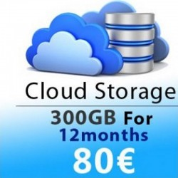 CLOUD STORAGE 12 MONTHS